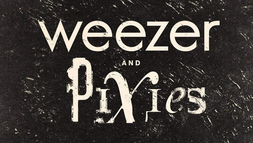 Weezer & Pixies With special guest BASEMENT