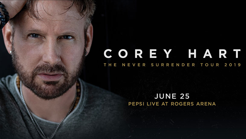 COREY HART: The Never Surrender Tour 2019