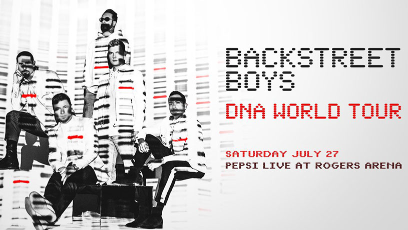 Backstreet Boys: DNA World Tour with guests